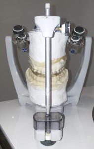 articulador para realizar las férulas de descarga